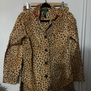 Ralph Lauren animal print pyjama